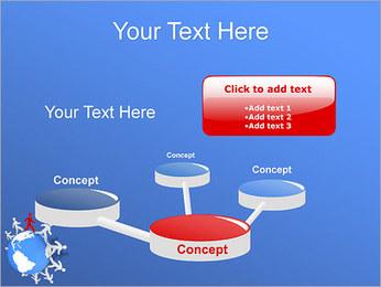 Torcendo o mundo Modelos de apresentações PowerPoint - Slide 9