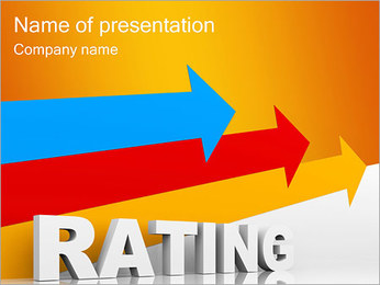 Rating PowerPoint Template