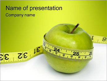 Diet PowerPoint presentationsmallar