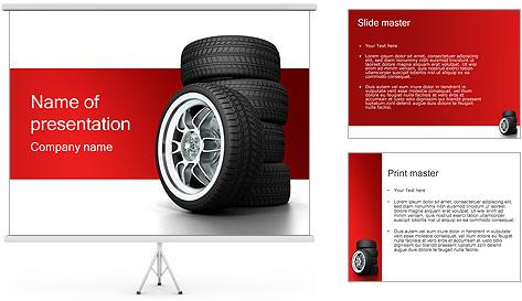 Roues Modèles des présentations  PowerPoint