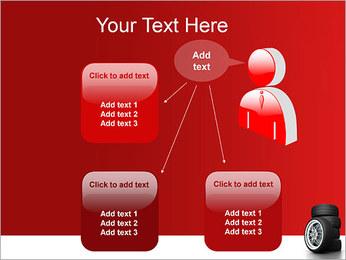 Roues Modèles des présentations  PowerPoint - Diapositives 12