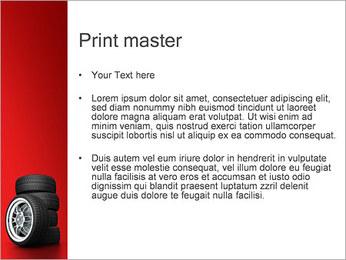 Roues Modèles des présentations  PowerPoint - Diapositives 24