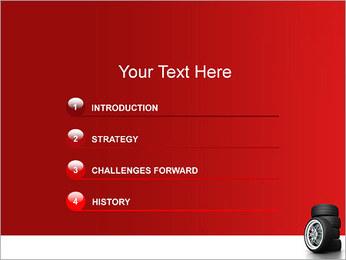 Roues Modèles des présentations  PowerPoint - Diapositives 3