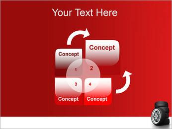 Roues Modèles des présentations  PowerPoint - Diapositives 5