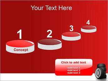 Roues Modèles des présentations  PowerPoint - Diapositives 7