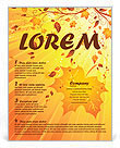 Autumn Flyer Templates