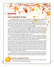 Autumn Letterhead Templates