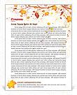 Autumn Letterhead Template