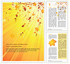 Autumn Word Templates