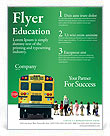 School Bus Flyer Template