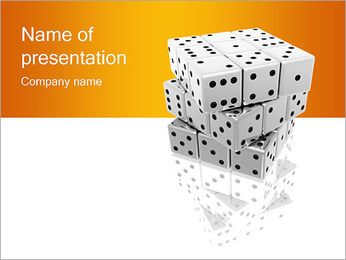 Dices PowerPoint Template