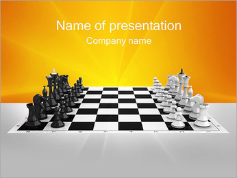 Chess PowerPoint Template