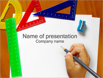 School Day PowerPoint Template
