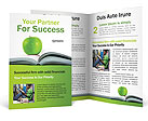 Green Apple & Book Brochure Templates
