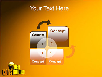 Under Construction PowerPoint Template - Slide 5