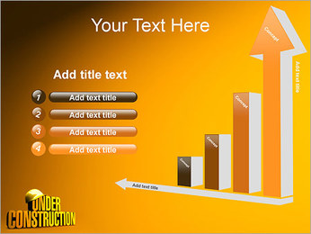 Under Construction PowerPoint Template - Slide 6