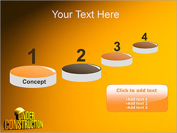 Under Construction PowerPoint Template - Slide 7