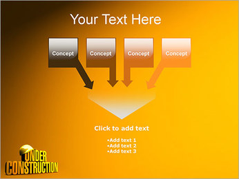 Under Construction PowerPoint Template - Slide 8