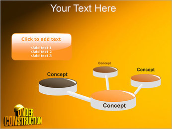 Under Construction PowerPoint Template - Slide 9