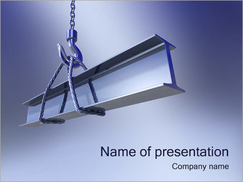 建てる PowerPointプレゼンテーションのテンプレート