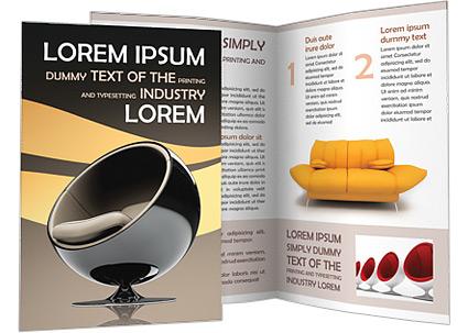 Modern Furniture Brochure Template New Design - Contemporary modern furniture catalog Simple