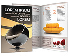 Modern Furniture Brochure Templates