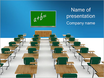 Classroom PowerPoint Template