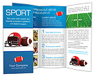 American Football Brochure Templates