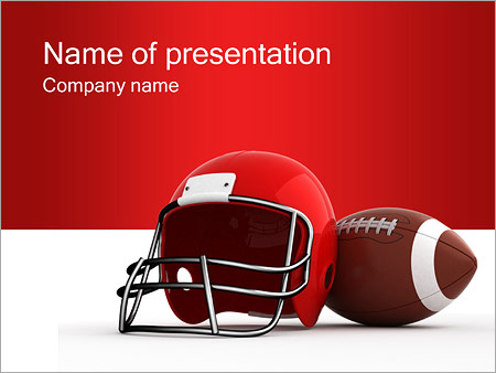 American football powerpoint template backgrounds id 0000000678 american football powerpoint template toneelgroepblik Image collections
