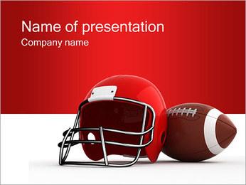 Americký fotbal PowerPoint šablony