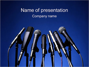 Speech PowerPoint Template