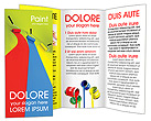 Roller Brushes Brochure Templates