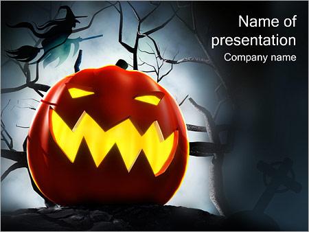 halloween powerpoint template backgrounds google slides id