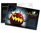 Halloween Postcard Template