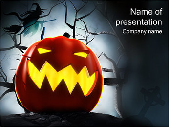 Halloween Modèles des présentations  PowerPoint