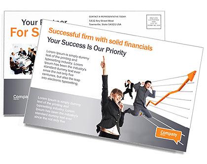 Success Postcard Template