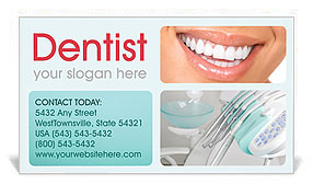 Dental help business card template design id 0000000691 dental help business card template accmission
