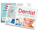 Dental Help Postcard Template