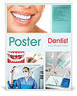 Dental Help Poster Template