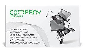 Technics Business Card Template