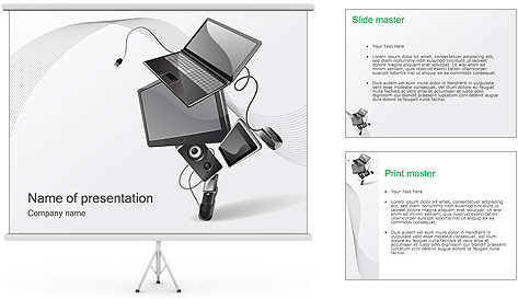 Technics PowerPoint Template