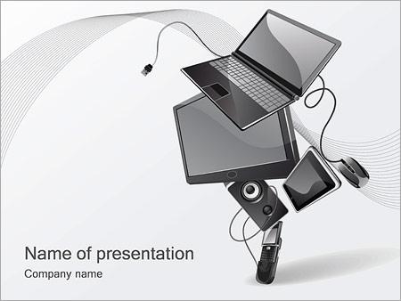 Technics PowerPoint Template