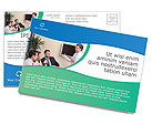 Consulting Postcard Template