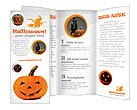 Halloween Pumpkin Brochure Templates