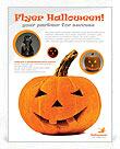 Halloween Pumpkin Flyer Template