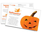 ハロウィンかぼちゃ ポストカード