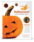 Halloween Pumpkin Poster Template