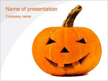 Halloween Pumpkin PowerPoint Template