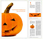 Halloween Pumpkin Word Templates