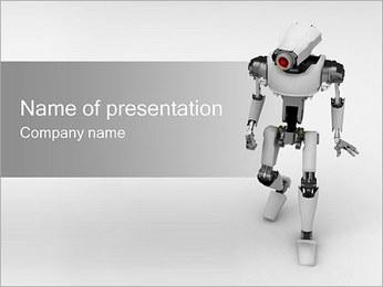 Robô Modelos de apresentações PowerPoint